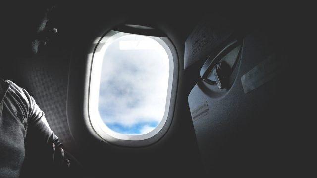 What happens if an airplane door open during flight