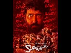 Hrithik Roshan Release the First Poster of Super 30