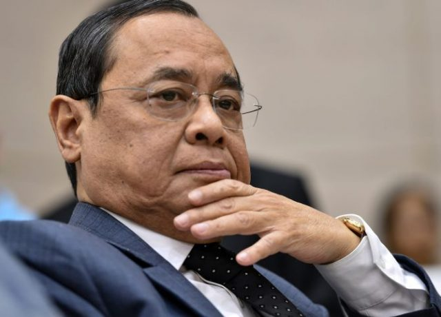 Justice Ranjan Gogoi designated as the Next Chief Justice of India