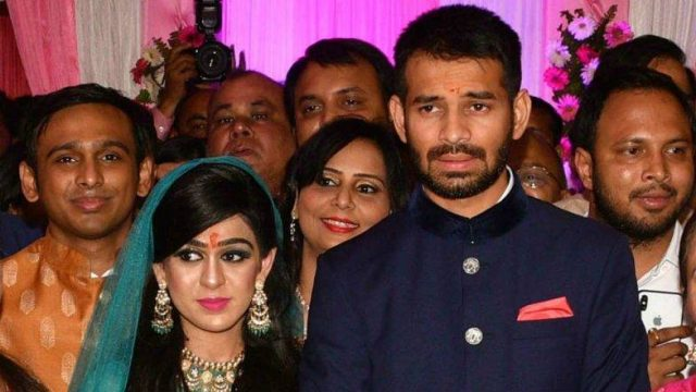 Tej Pratap Yadav Asks Aishwarya for Divorce