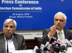 Sunil Arora is now the Chief Election Commissioner of India