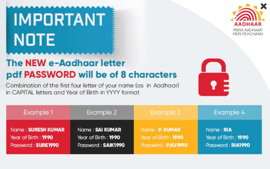 How to Access Aadhaar Password
