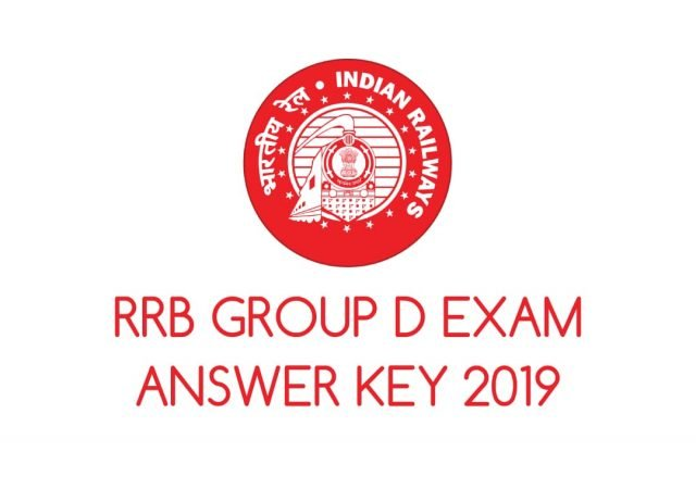 RRB Releases Group D Exam Answer Key Online