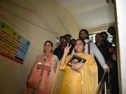 Misa Bharti files her nomination from Patliputra